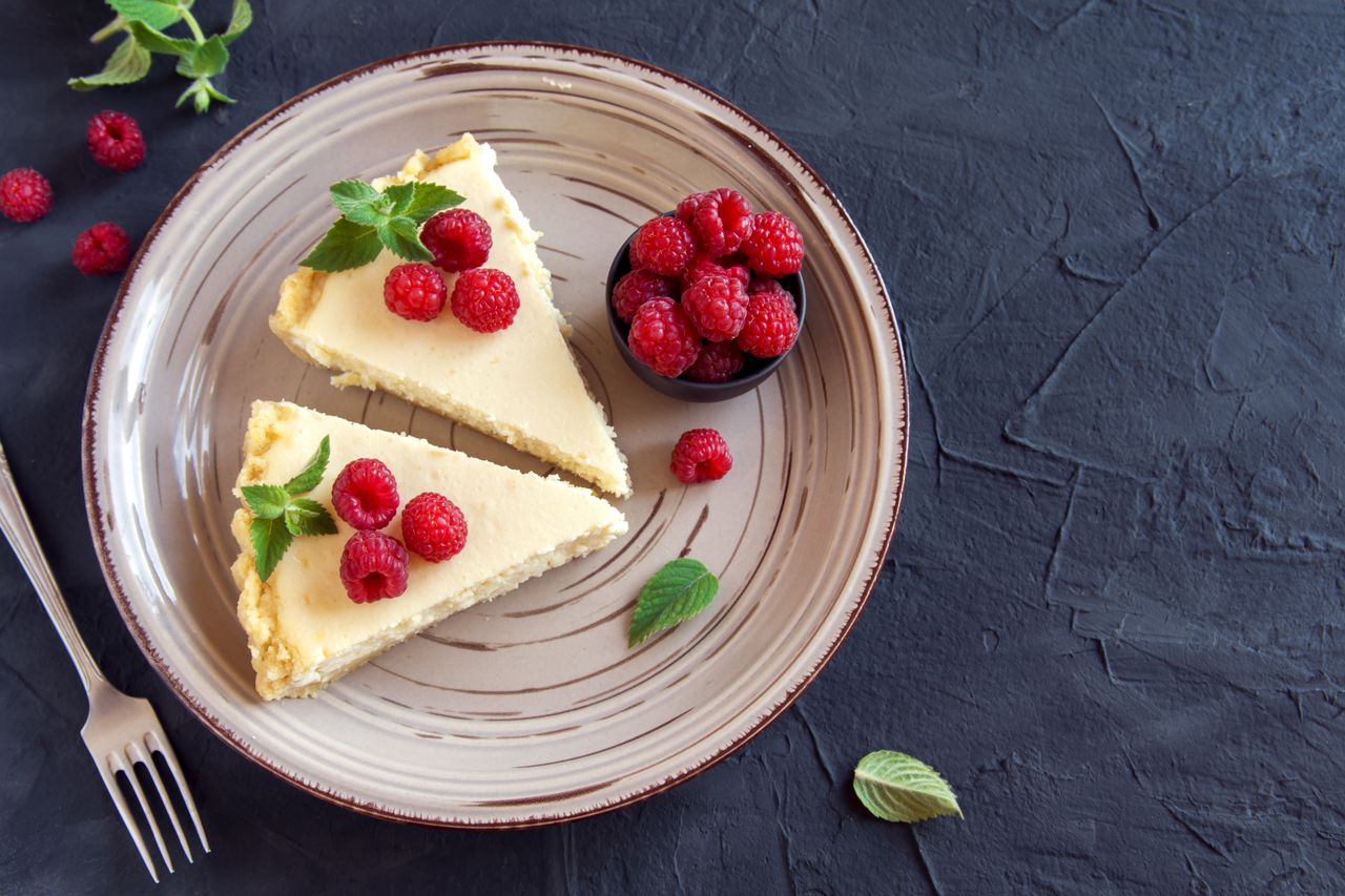 Malinový dort si zamilujete