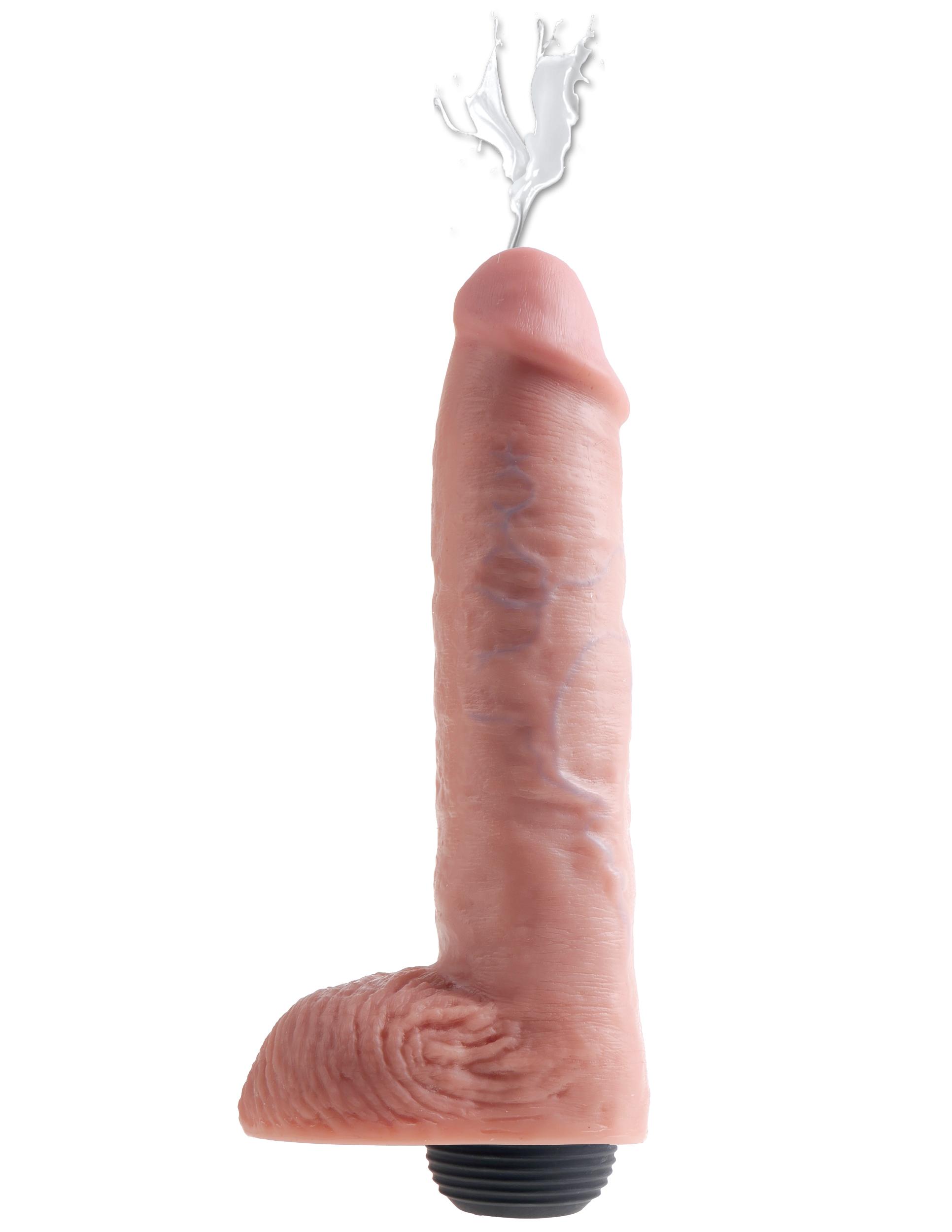 Černá dildo stříkat